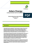 Adaro Energy Presentation DB Access Asia Conf May2011