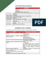 Agenda Primera Feria Conquiguias