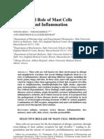 Mast Cells Inflammation NYAS