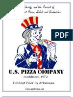 US Pizza Menu