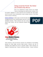 Human Trafficking Around the World The Global Reach of Modern-Day Slavery