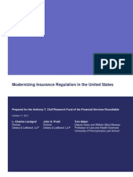 Modernizing Insurance Regulation in the United States