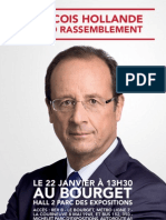 Tracts François Hollande