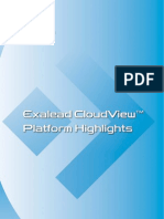 Exalead Cloudview Platform Highlights