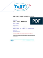 TST-13 Aircraft Manual With 503 Engine LSA Rev.1