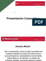Presentacion Corporativa
