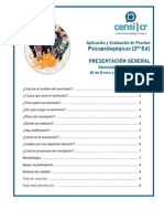 Descripción General Seminario AEPP