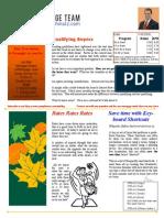 News Letter Nov 6 2008