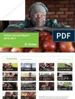 Oxfam Annual Report 2010-2011