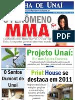 JORNAL FOLHA DE UNAÍ - JANEIRO 2012 - EDIÇÃO 17