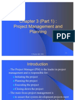 Ch03-Project Management and Planning- Part 1
