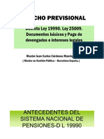 PPT - Derecho Previsional Intereses Legales