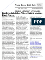 January 13, 2012 - The Federal Crimes Watch Daily