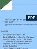 Presentation on Bid Proposal (1)