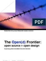 Open(d) Frontier Single Page Format Final Version With Full Bibliography