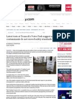 Latest Tests at Teaneck's Votee Park Suggest Soil Contaminants Do Not Exceed Safety Standards - North Jersey