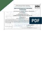 Certificado Do Inmetro