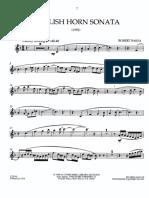 Baksa - English Horn Sonata