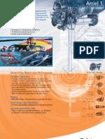 Turbomeca Arriel 1 Engine Varient