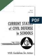 Current Status of Civil Defense in Schools
