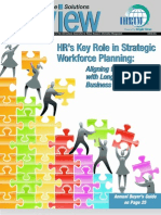 HR's Key Role in Strategic Workforce Planning