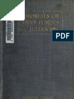 Memorials of Henry Forbes Julian (Hester Julian, 1914)