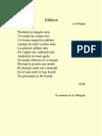 Puskin, A.S - Dadacei .