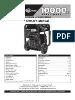 Generac 10000exl Manual
