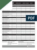 P90X Worksheets