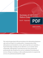 Summary of USF ICC Reform - Part 4 Regression Analyses