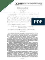 Ordenanza de Convivencia Ciudadana y Prevención%0Ade Actos Vandálicos REPRESIVA