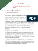 Enmiendas a los Estatutos del PSOE 38 Congreso 2012 (Raquel R Otero)