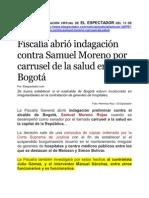 ANTONIO SANGUINO TAMBIEN EN EL CARRUSEL DE LA SALUD