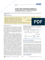 Copper-Catalyzed, One-Pot, Three-Component Synthesis of Benzimidazoles by Condensation and C–N Bond Formation - Journal of Organic Chemistry, 2 Dec 2011, 76(23), 9577-9583 - DOI 10.1021/jo2019416