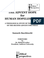 The Advent Hope For Human Hopelessness by Samuele Bacchiocchi
