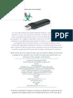 Inmuniza Tu USB de Cualquier Virus