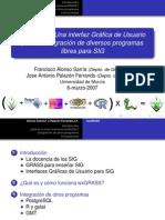 Wxgrass una IGU para La integracion de diversos programas SIG