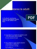 4. Invatarea La Adulti