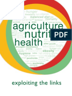 Agriculture, Nutrition, Health