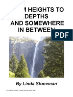 From Heights to Depths and Somewhere In Between by Linda Stoneman