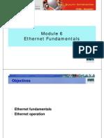 CCNA1 M6 Ethernet Fundamentals