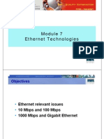 CCNA1 M7 Ethernet Technologies