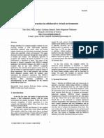 Multi Modal Interaction in Collaborative Virtual Environments