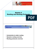 CCNA2 M6 Routing and Routing Protocols