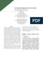 Autonomous Actors in Networked Collaborative Virtual Environments