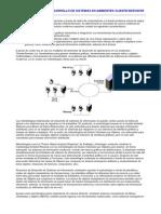 Metodologia de Desarrollo de Sistemas en Ambientes Cliente-servidor