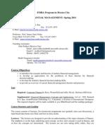 BA 385T - Financial Management MEX - R. Rao and J. Nolen