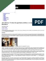 Arca Russa_ O reino da aparência estética e os impasses histórico-filosóficos _ Passa Palavra