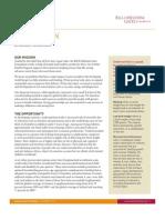Bill & Melinda Gates Foundation Nutrition Strategy
