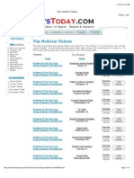 Tim McGraw Concert Tour Dates & Event Tickets (Clickable Links)